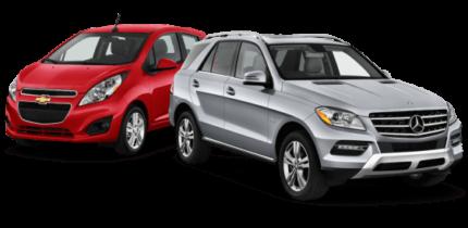 car rental paros vehicles
